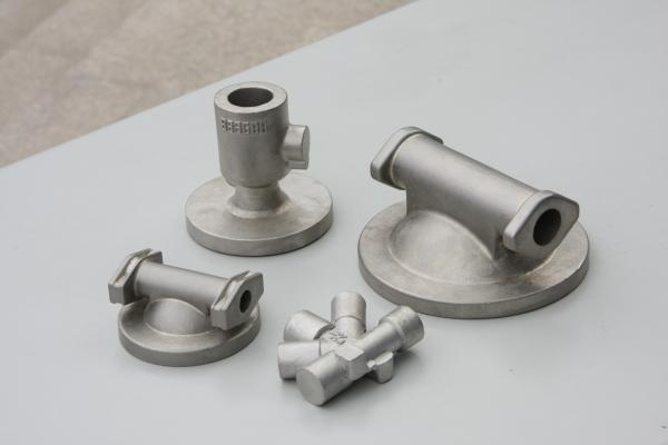 Buy Air pressing equipment stainless steel investment casting parts mill and thread at wholesale prices