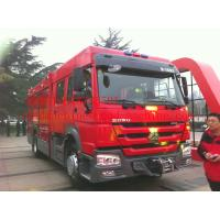 Quality 6m³ / 8m³ Foam Fire Fighter Truck Bridge Wagon Fire Emergency Truck 290HP for sale