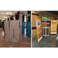 Buy cheap Banner Poster Sand Roll Up Banner Stand , Foldable X Frame Banner Stand from wholesalers