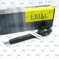 Quality ERIKC 0 445 110 009 common rail original injector 0445110009 diesel auto engine injection MB 6110700487 for Mercedes for sale