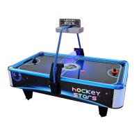 Buy cheap Portable Stars Air Hockey Arcade Machine , Square Hockey Game Machine from wholesalers