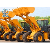 Quality Powerful Pulling Force Compact Wheel Loader With Four Wheel Drive 50kn for sale