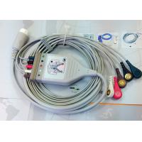 Quality Medical Compatible ECG Patient Cable 12 Pin One Piece Ecg Cables And Leadwires for sale