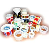 Quality Thermal Printing Food Label Stickers With Glossy Varnishing Surface Finishing for sale