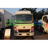 Quality 140hp 160hp 4 X 2 Light Duty Commercial Trucks , Four Cylinder Transport Truck for sale