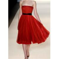 China High End Bra Strapless Bridesmaids Wedding Dresses Short Party Dresses on sale