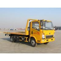Quality Yellow Color Wrecker Tow Truck Wheelbase 3800 Mm 5085kg Curb Weight for sale