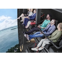 Quality 11 Meters Tall 4D Immersive Flying Cinema for City Propaganda Education for sale