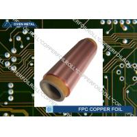 Quality 12μm - 100μm Treated  RA Cu Foil For PCB , electrolytic copper foil rolls for sale