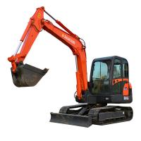 Quality 2.3 Ton 0.09 Cbm Bucket Small Excavator Tailless With Mini Digging Machine for sale