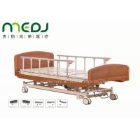 Wooden Head Clinic / Hospital Patient Bed MJSD04-03 Electric Control