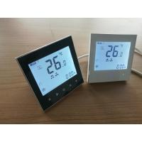 Buy cheap LCD display room thermostat for fan coil units, with 0-10V control with Modbus from wholesalers