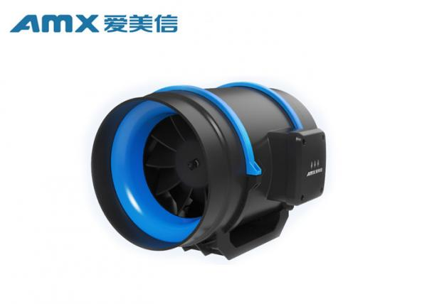 Buy Full ABS Plastic Mixed Flow Duct Fan , Commercial Inline Exhaust Fans For Hotel at wholesale prices