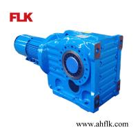 China Bevel Helical Gearing Reducer with Motor on sale