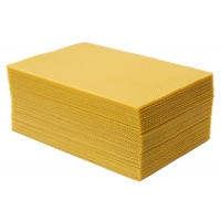 Quality Grade A  type Beeswax foundation sheet  for Beekeeping for sale