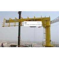 Buy cheap Floor Pillar Mounted Slewing Jib Crane 3T 5T 360 Degree Rotating Customized Span from wholesalers