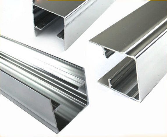 Buy Chemically Polished Aluminum Angle Extrusion For Windows And Doors ISO9001 approved at wholesale prices