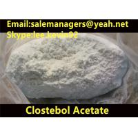 Quality 99% Purity Clostebol Acetate Turinabol CAS 855-19-6 For Building Muscle for sale
