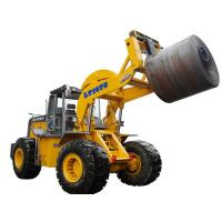 Quality Heavy Duty 16 Ton 18 Ton Forklift , Steel Coil Front End Loader Forklift for sale