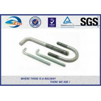 China SGS Stainless Steel Bolts Galvanised Bent Anchor Bolts For Fastenings on sale