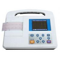 Buy cheap Large LCD Screen 12 Lead Ecg Machine , Rs232 and USB Interface from wholesalers