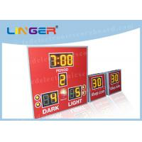Buy cheap Amber Color with 8'' 200mm Digits Led Electronic Scoreboard With Countdown Shot from wholesalers