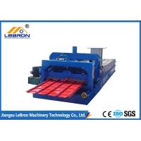 Buy cheap High Performance Color Steel Tile Roll Forming Machine 10-16m/min Stable from wholesalers