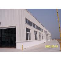 Quality High Strength Q235B Prefab Metal Structure Building Workshop Well Designed for sale