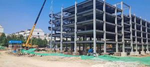 Quality Multi Storey Riged Frame Structural Steel Structure Construction H Beam for sale