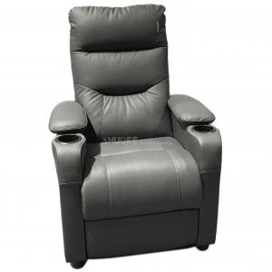 Quality Modern Leather Home Theater Sofa Seating Multi color with Recline Function for sale