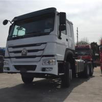 Quality Sinotruk HOWO 6x4 Prime Mover Truck , Tractor Truck 336hp, 371hp, 420hp, Euro II, Loading 40-60tons for sale