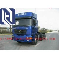 Quality White Color Prime Mover Truck , HOWO 6x4 Cargo Truck Diesel Fuel Type for sale