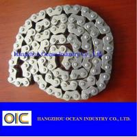 Quality 40Mn CD70 Transmission Spare Parts / Motorcycle Sprocket Chain for sale