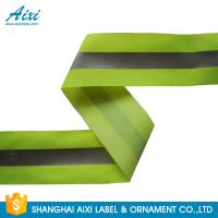 Quality 100% Polyester Ribbons Reflective Safety Tape Single Sided With Offer Printing for sale