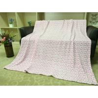 Quality Colored Lightweight Flannel Blanket , Soft Printed 100 Polyester Throw Blanket for sale