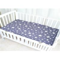 Buy cheap Bed Covers Baby Crib Sheets Mattress 100% Cotton Soomth And Soft Knitted from wholesalers
