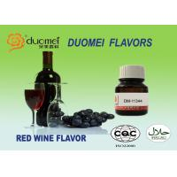 Buy cheap Alcohol Drinks Food Grade Flavoring Real True Red Wine Flavors Light Yellow from wholesalers