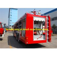 Buy 6m³ / 8m³ Foam Fire Fighter Truck Bridge Wagon Fire Emergency Truck 290HP at wholesale prices