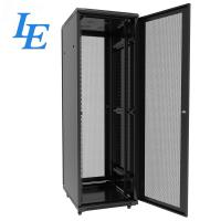 Quality Locking Server Rack Cabinet Height 18U - 47U SPCC Cold Rolled Steel Material for sale