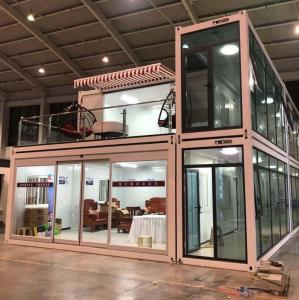 Quality Customized Prefabricated Storage Container Tiny House For Hotels Sandwich Panel for sale