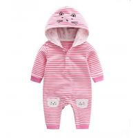 Buy cheap Spring New Style Hooded Infant Baby Rompers Long Sleeve With Lovely Animal Cat from wholesalers