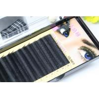 Quality Premium Long Lasting Eyelash Individual Extensions For Beauty Salon 10mm In Three Rows for sale