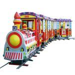 Quality Square rides train track train sightseeing train small train ride equipment for sale