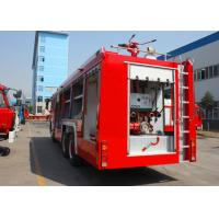 Quality HOWO Fire Fighting Trucks 6x4 12m3 , Fire Fighting Vehicles for sale