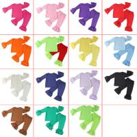 Quality Plain 100 Cotton Baby Long Sleeve Clothes , Newborn Baby Girl Boutique Outfits for sale