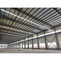 Quality Well Designed Industrial Portal Riged Frame Structural Steel Workshop Building Fabricaion And Construction for sale