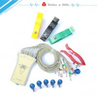 Buy cheap Gray Resting Portable 12 Lead Ecg Machine For Medical , Usb Connection from wholesalers