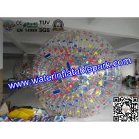 China Shining Outside Rent Inflatable Zorb Ball games For water park on sale