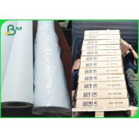 """Buy cheap 24"""" x 150ft CAD Plotter Paper Rolls Uncoated White Bond Engineering Paper 2"""" from wholesalers"""