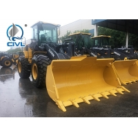 Quality ZL50GN  Yellow Color Wheel Loader 3.0m3 Bucket 3300mm Wheelbase 5 Tons Good Price for sale